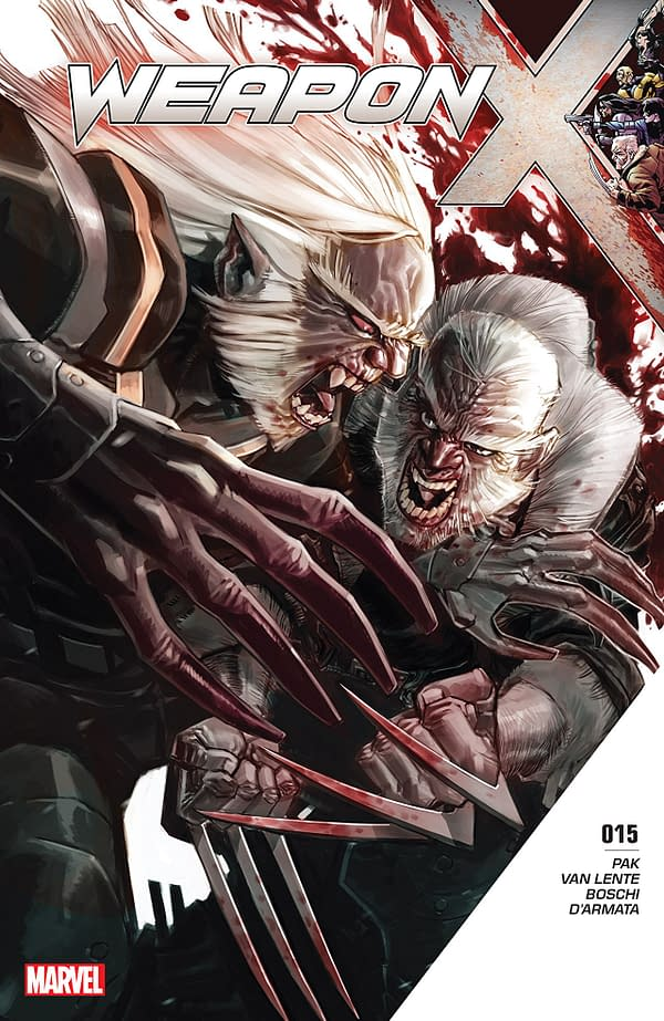 X-Men: Bland Design – Drinking, Killing, and Portable Storage Technology in Old Man Logan #36