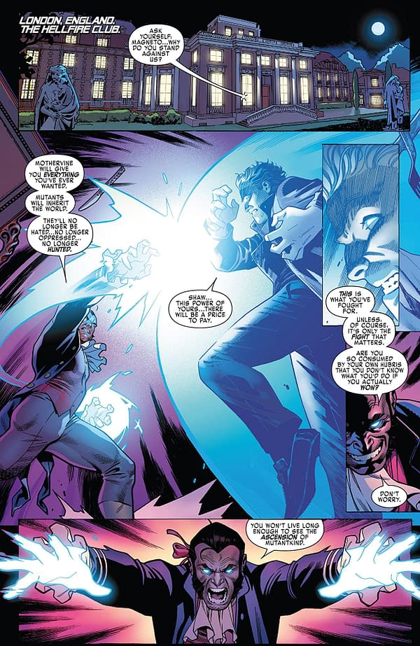 X-Men: Blue #24 art by Jorge Molina, Matt Milla, and Jay David Ramos