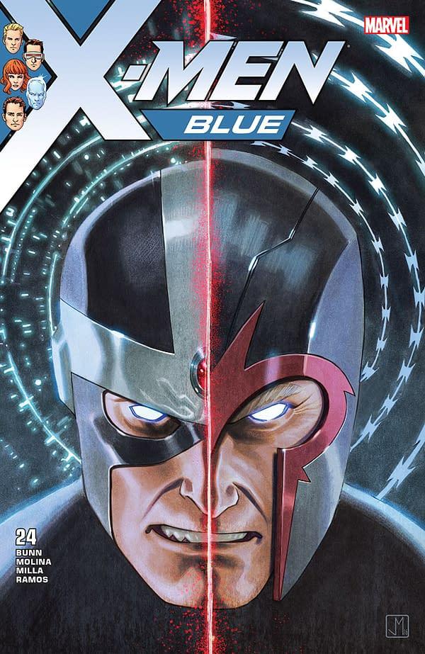 X-Men: Bland Design – Malice Attacks in X-Men Blue #24