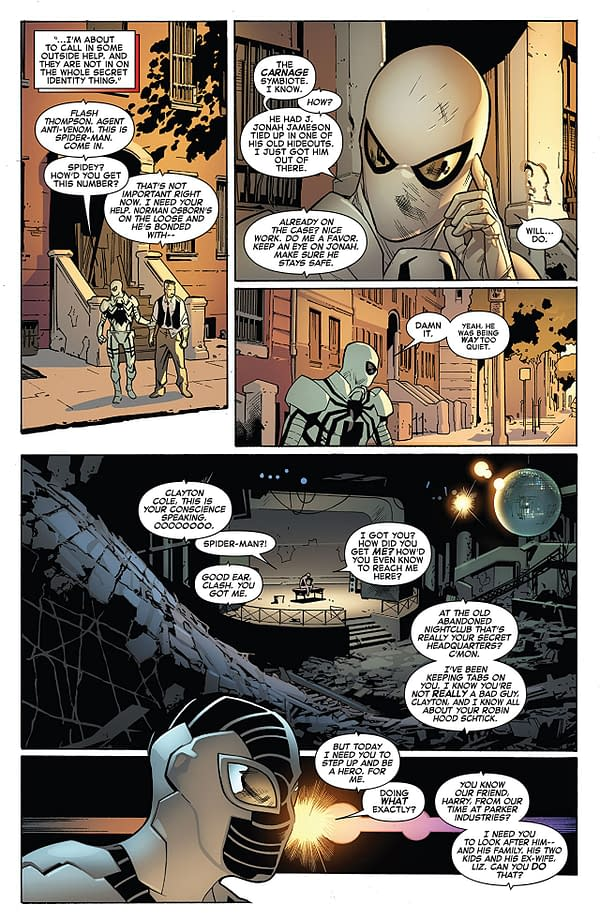 Amazing Spider-Man #799 art by Stuart Immonen, Wade von Grawbadger, and Marte Gracia