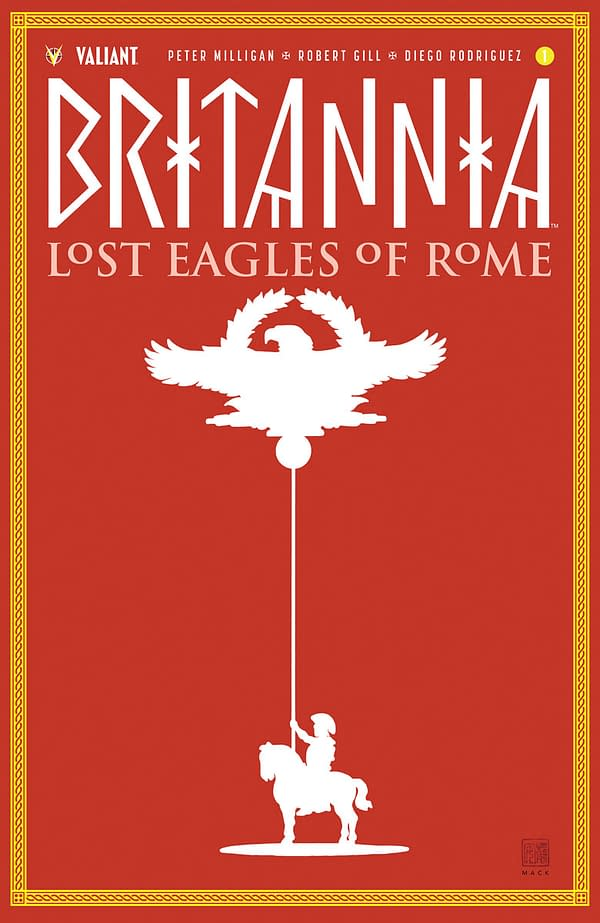 Search for Rome's Lost Eagles in Valiant Entertainment's July 2018 Solicits