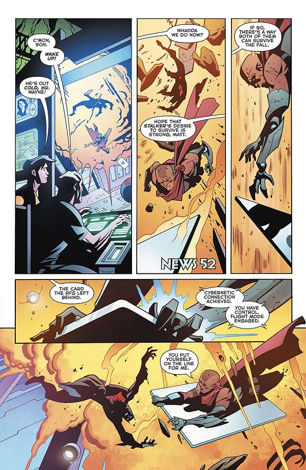 Batman Beyond #18 art by Phil Hester, Ande Parks, and Michael Spicer