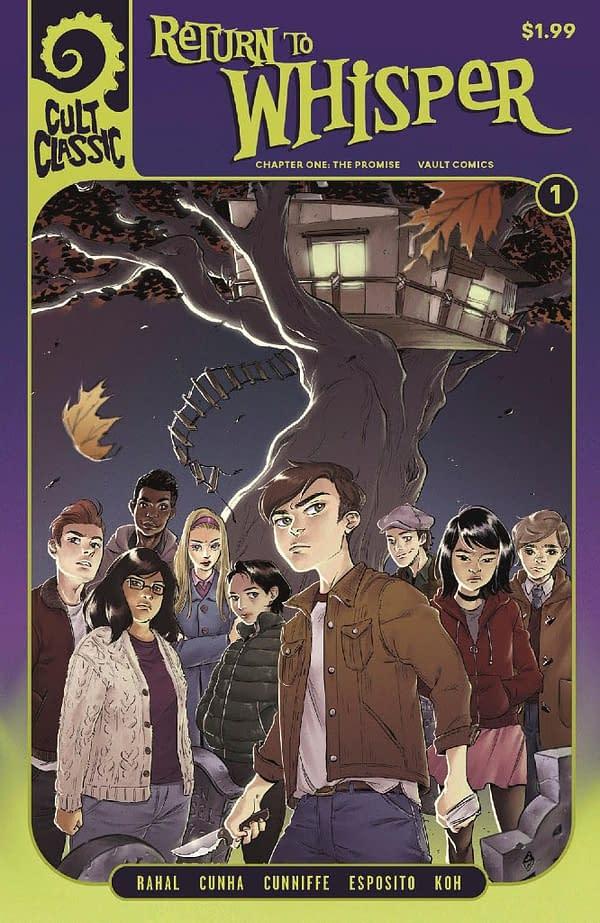 Vault Comics Giving Away Free Comics to Make Up for Diamond Shipping Error