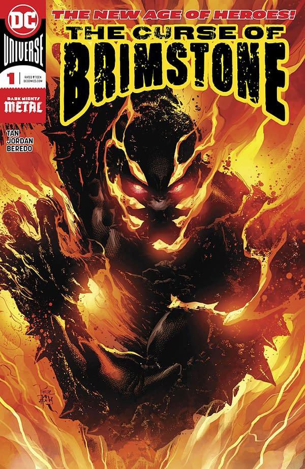 Curse of Brimstone #1 Cover by Philip Tan and Rain Beredo