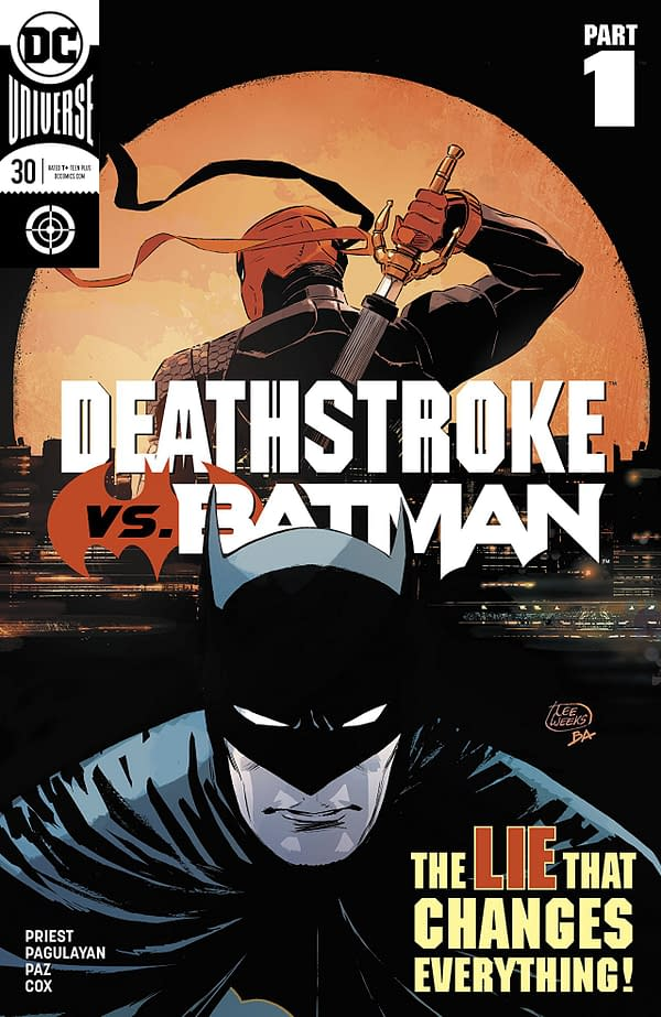 Deathstroke #30 cover by Lee Weeks and Brad Anderson