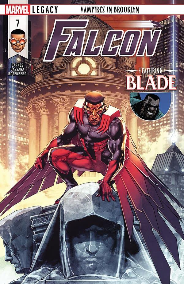 Falcon #7 cover by Jay Anacleto and Romulo Fajardo Jr.