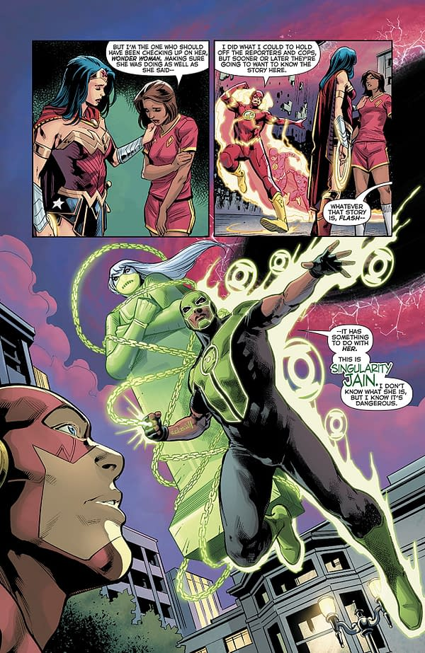 Green Lanterns #45 art by Ronan Cliquet and Hi-Fi