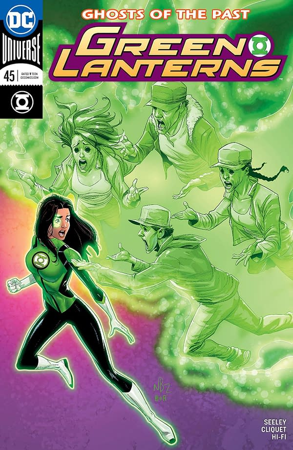 Green Lanterns #45 cover