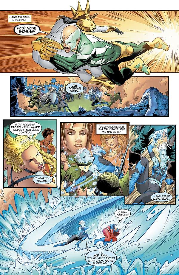 Justice League of America #29 art by Hugo Petrus and Hi-Fi