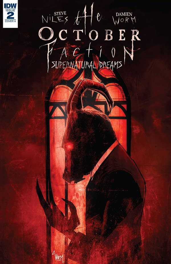 October Faction: Supernatural Dreams #2 cover by Damian Worm
