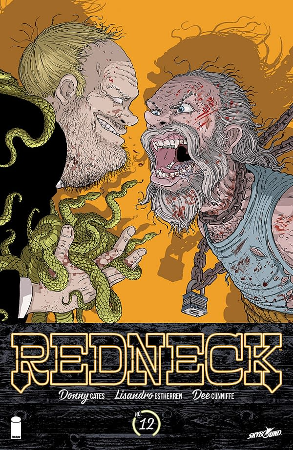 Redneck #12 cover by Nick Pitarra