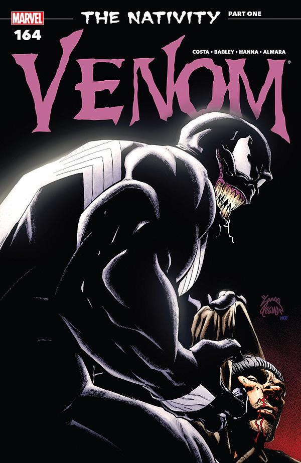 Venom #164 cover by Ryan Stegman