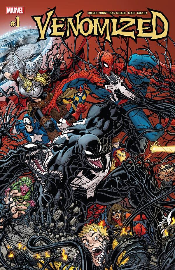 Venomized #1 cover by Nick Bradshaw