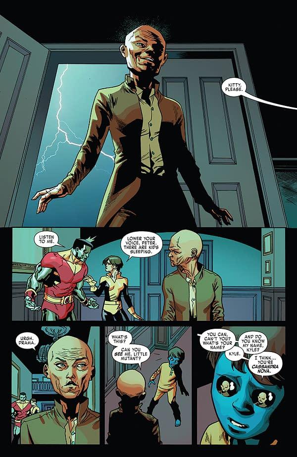 X-Men: Red #3 art by Mahmud Asrar and Ive Svorcina
