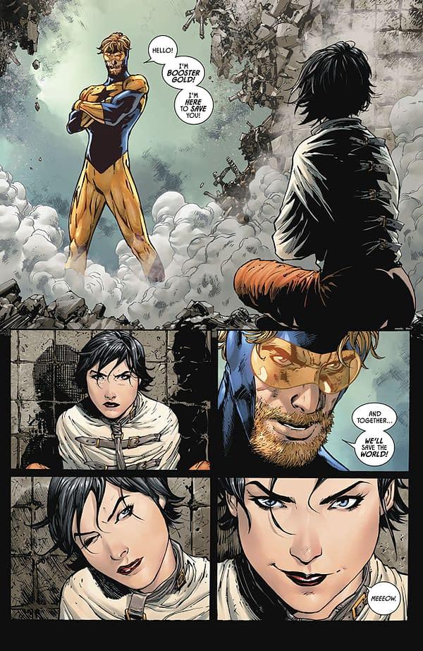 Batman #46 art by Tony S. Daniel, Sandu Florea, and Tomeu Morey