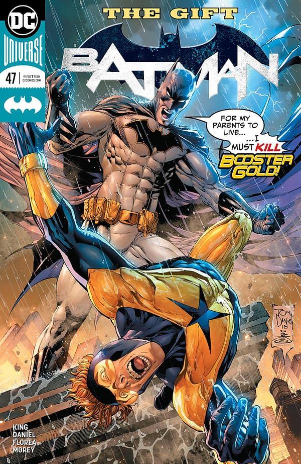Batman #47 cover by Tony S. Daniel, Danny Miki, and Tomeu Morey