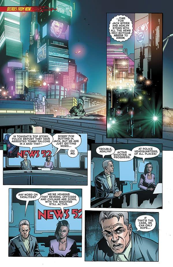 Batman Beyond #20 Review: Enjoyable in Spite of Clichés