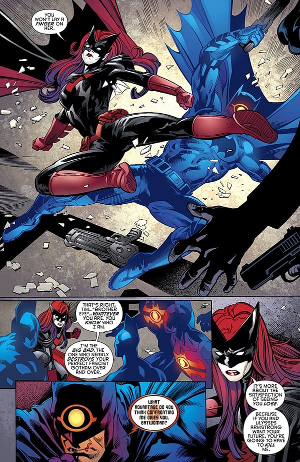 Batman: Detective Comics #980 art by Scot Eaton, Wayne Faucher, John Kalisz, and Allen Passalaqua