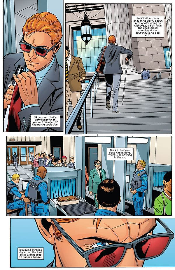 Infinity Countdown: Daredevil #1 art by Chris Sprouse, Scott Hanna, Karl Story, and Matt Yackey