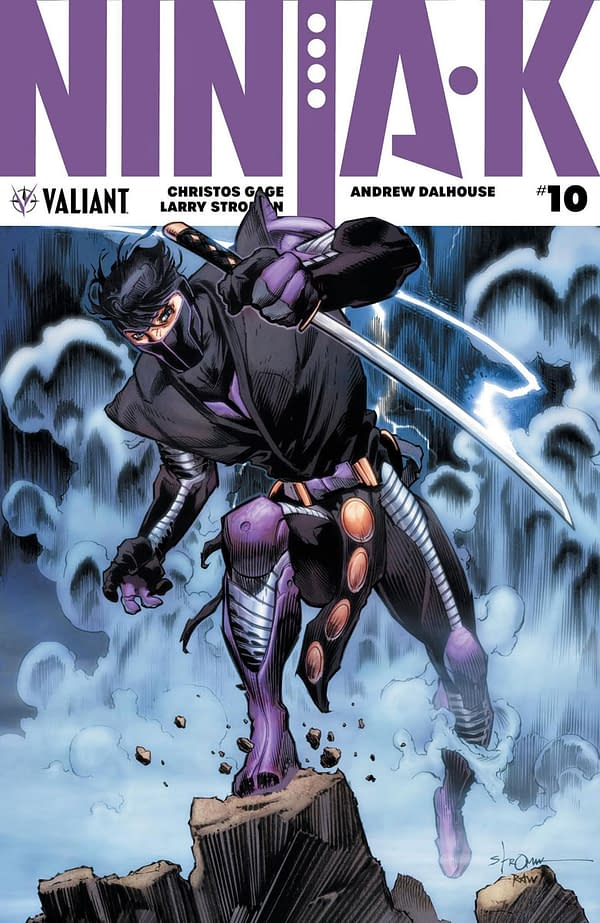 Ninja-K #10-14 Get a Pre-Order Bundle from Valiant Starting in August