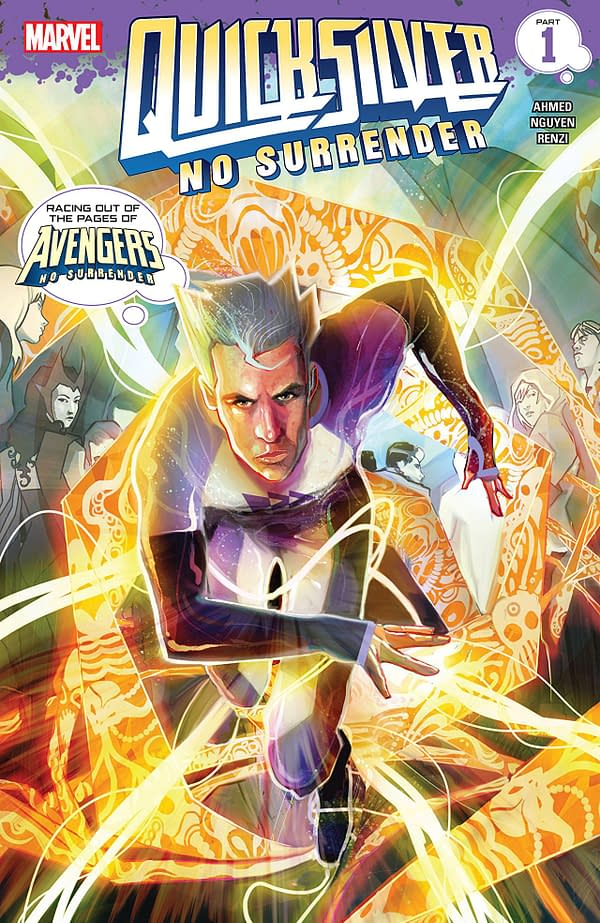 Quicksilver: No Surrender #1 cover by Martin Simmonds