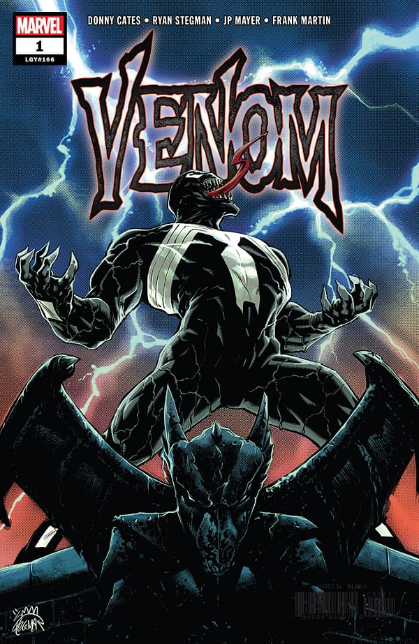 Venom #1 cover by Ryan Stegman and Frank Martin