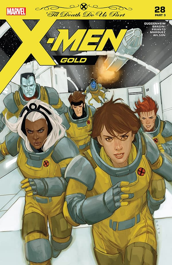 X-Men: Gold #28 cover by Phil Noto