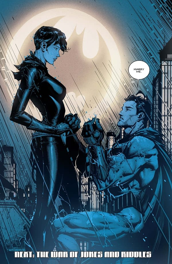 What Do Tom King's Previous Batman Comics Tell Us About How the Wedding to Catwoman Will Go?