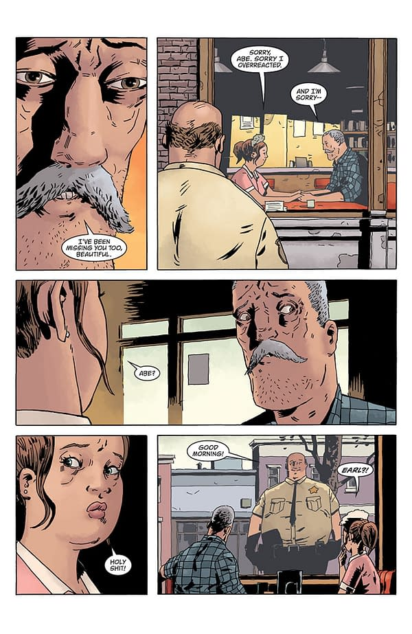 Black Hammer: Age of Doom #3 art by Dean Ormston and Dave Stewart