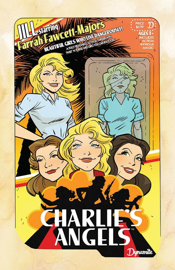 Dave Dorman, Anthony Marquez, and Elias Chatzoudis Cover Charlie's Angels #1