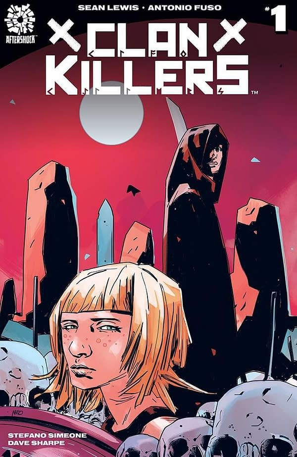 Clan Killers #1 cover by Antonio Fuso