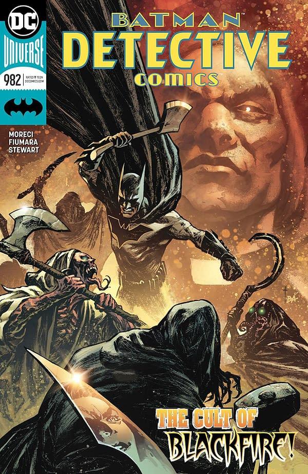 Batman: Detective Comics #982 cover by Sebastian Fiumara and Brad Anderson