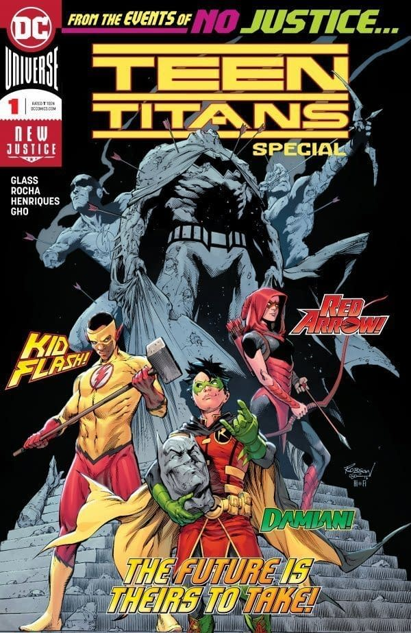 I am Told Tomorrow's Teen Titans Special #1 Will be Very Special Indeed