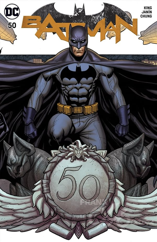 Frank Cho is Creating His Own Batman #50 Exclusive Cover – All 3 of Them