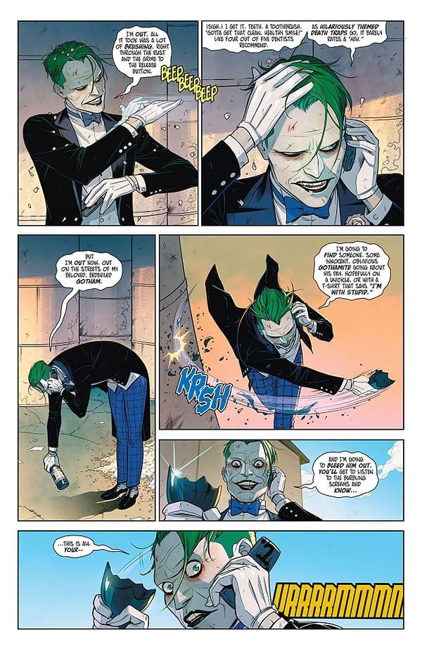 Harley Quinn vs. the Joker #1 art by Sami Basri and Jessica Kholinne