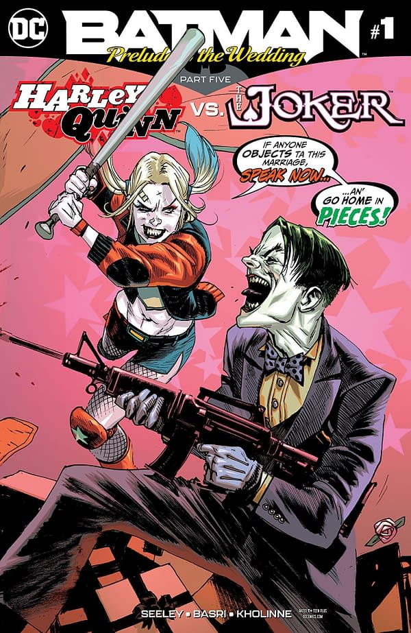 Harley Quinn vs. the Joker #1 cover by Rafael Albuquerque
