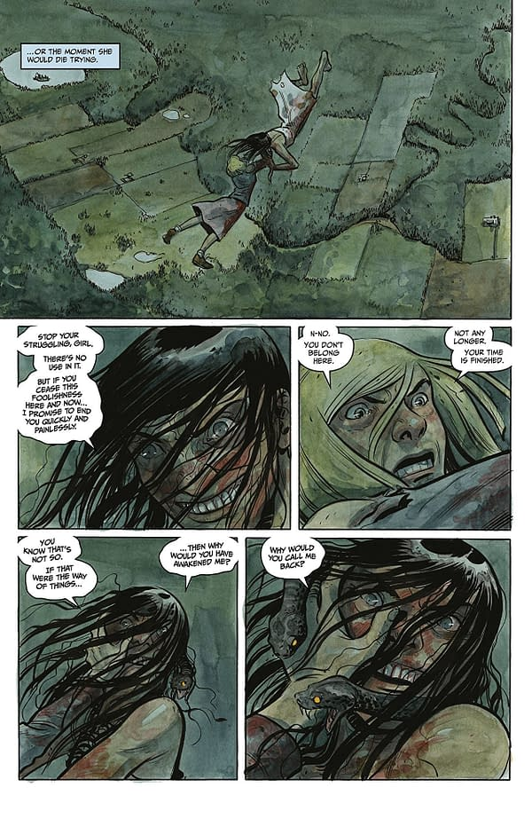 Harrow County #32 art by Tyler Crook