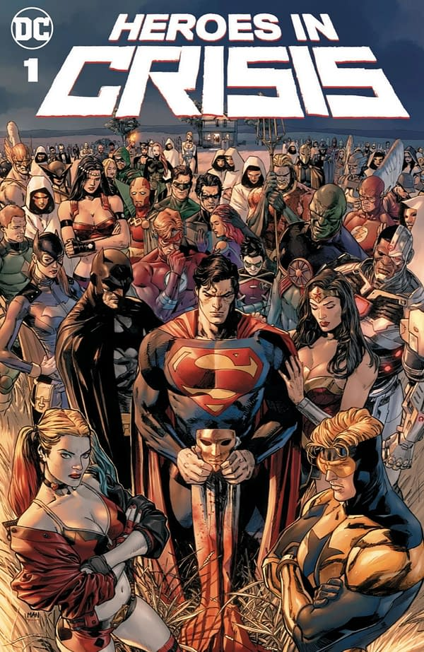 What Will Heroes in Crisis's Shocking Opener Be? [Potential Spoilers]