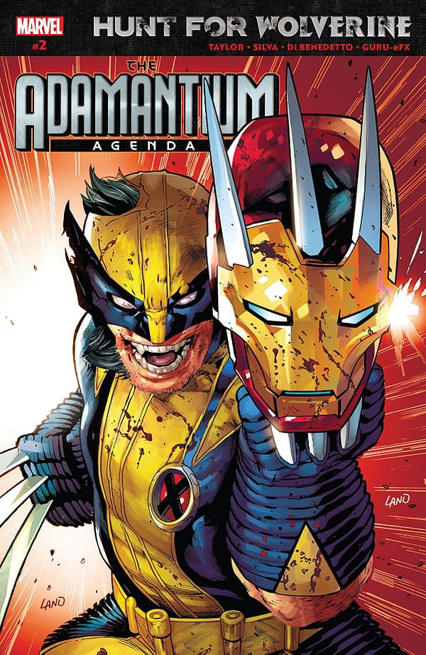 Hunt for Wolverine: Adamantium Agenda #2 cover by Greg Land
