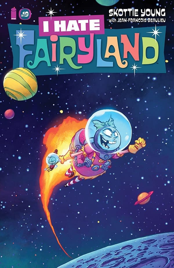 I Hate Fairyland #19 cover by Skottie Young