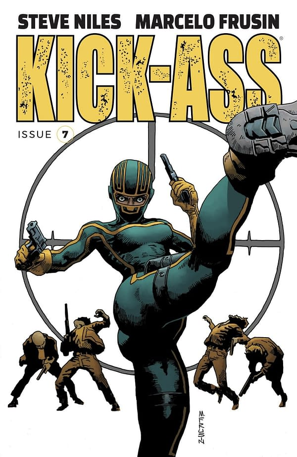 Steve Niles and Marcelo Frusin Take Over Kick-Ass in September