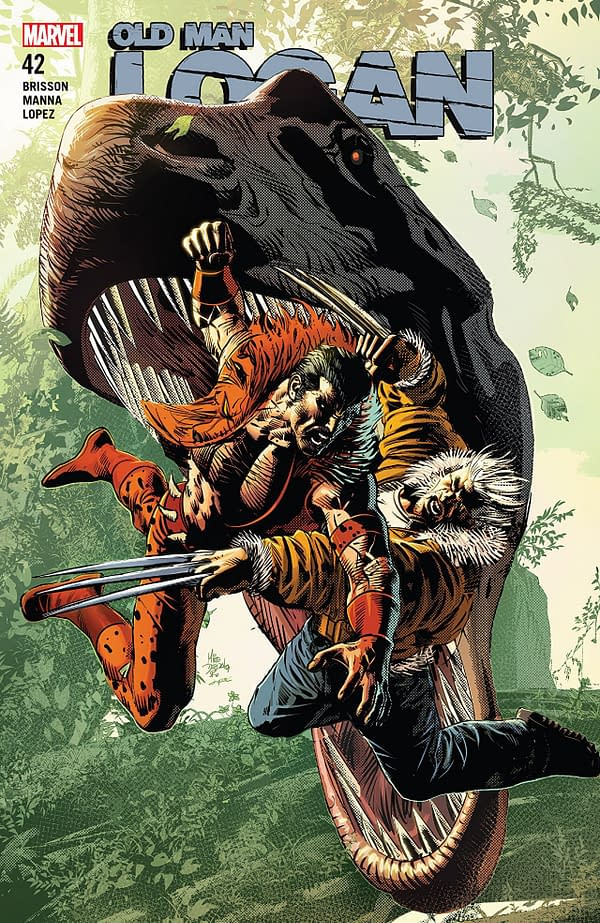 X-ual Healing: Illegal Dinosaur Poaching in Old Man Logan #42