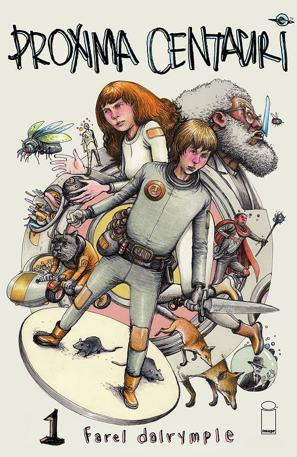 Proxima Centauri #1 cover by Farel Dalrymple