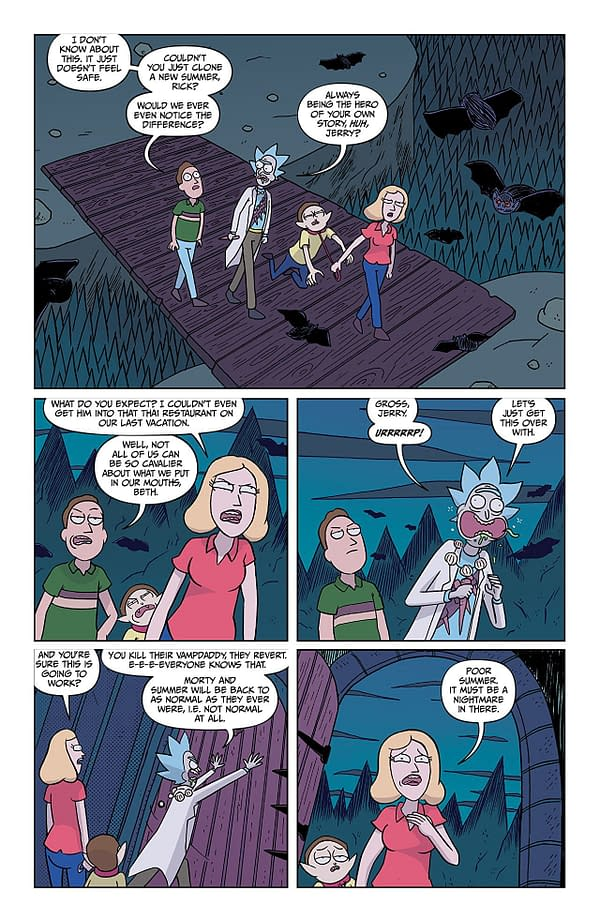 Rick and Morty #38 art by Marc Ellerby and Sarah Stern