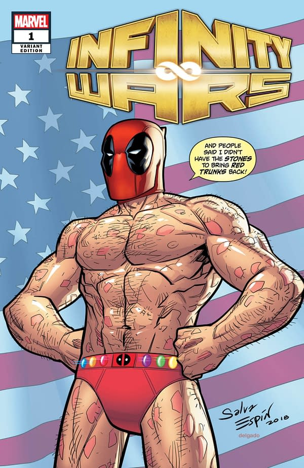 Marvel Gets Deadpool to Bring Back His Red Trunks Too