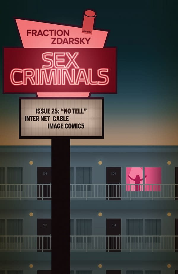 Sex Criminals #25 cover by Chip Zdarsky