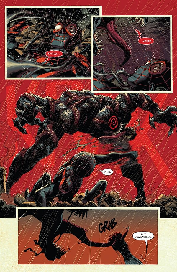 Venom #3 art by Ryan Stegman, JP Mayer, and Frank Martin