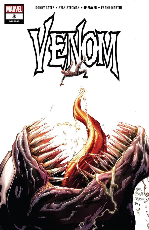 Venom #3 cover by Ryan Stegman