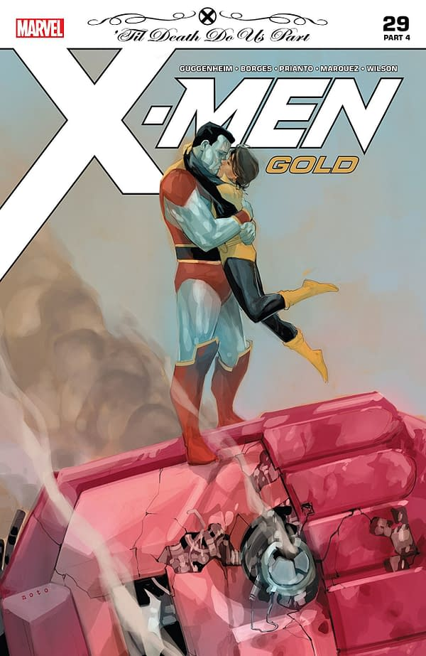 X-Men: Gold #29 cover by Phil Noto