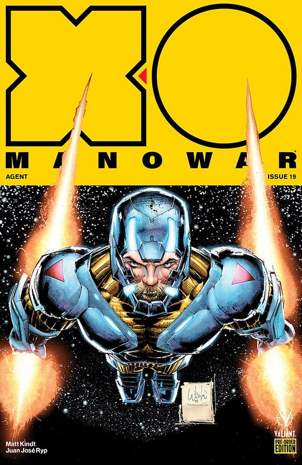Juan José Ryp Joins X-O Manowar in September, Plus a Preorder Bundle with Exclusive Whilce Portacio Covers